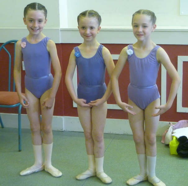 Ballet, Tap, Modern, Jazz and the corresponding uniform for class